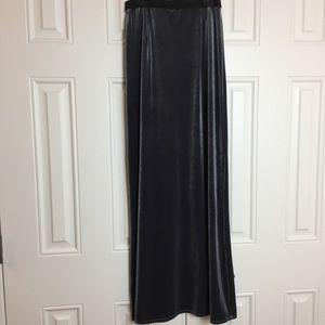 Laundry Shelli Segal Velvet Pencil Skirt Small